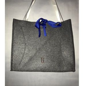 Kit and Ace Gray Wool Tote Bag